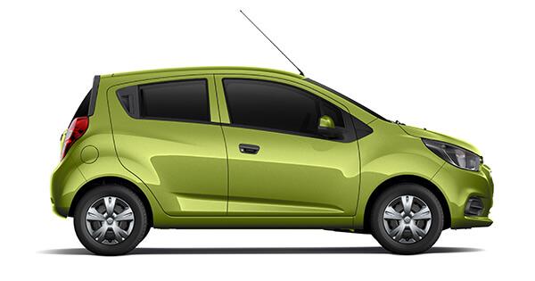 Chevrolet spark duo xanh lá 2018