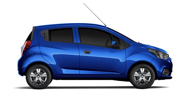 Chevrolet spark duo xanh dương 2018