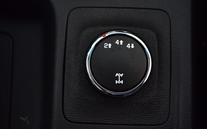 Chuyển đổi giữa chế độ 4WD và 2WD