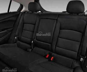 Đánh giá xe Chevrolet Cruze 2019 nâng cấp: Hàng ghế sau.