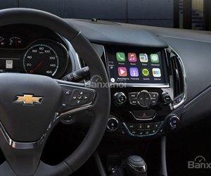 Đánh giá xe Chevrolet Cruze 2019 nâng cấp: Xe được trang bị nhiều tiện nghi.