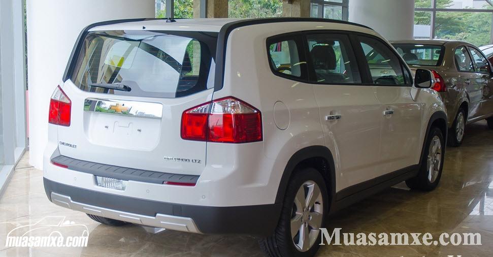 Đánh giá ưu nhược điểm Chevrolet Orlando MT 2017 vừa ra mắt tại Việt Nam 11
