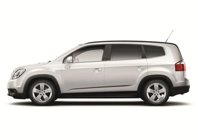 Chevrolet Orlando ra mắt rất lặng lẽ.