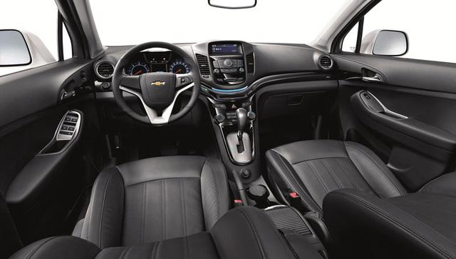 Khoang nội thất đặc trưng Chevrolet