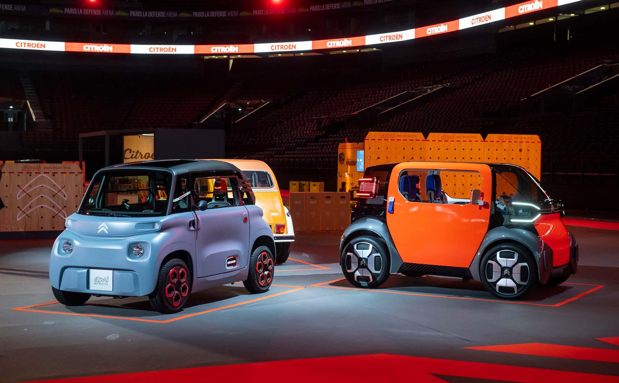 Citroën Ami - xe điện của tương lai: sạc 1 lần chạy 70 cây số, giá 165 triệu