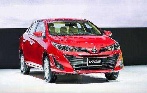 Top những dòng xe Toyota bán chạy tại Việt Nam