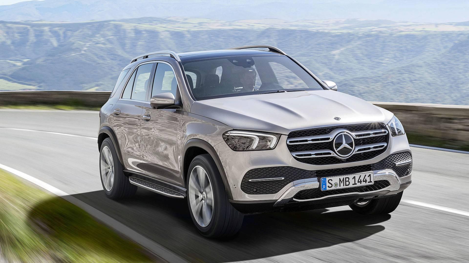 Mercedes-Benz GLE 2019 ra mắt : Thiết kế mượt mà, công nghệ vượt trội