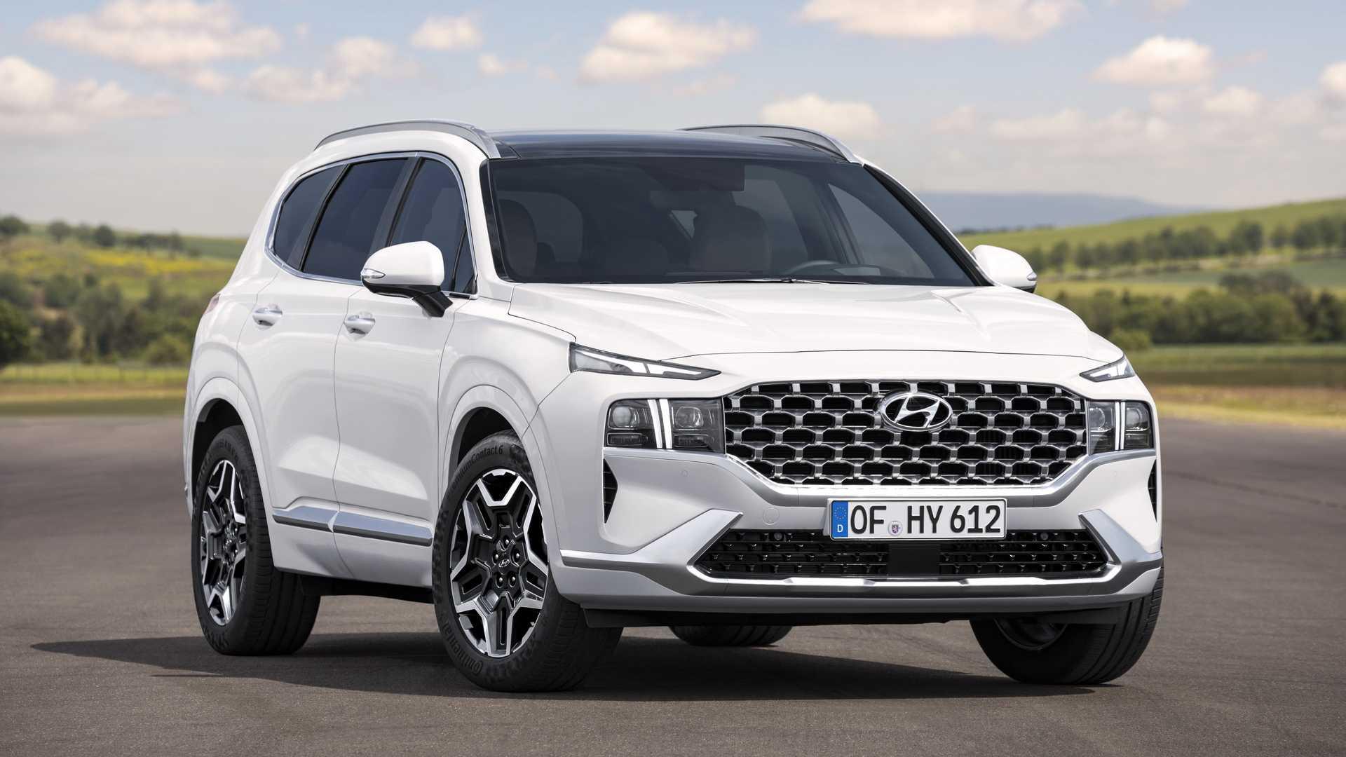 Hyundai Santa Fe 2021 lộ diện hoàn toàn: nâng cấp toàn diện như bản all-new  | Tin Tức | Otosaigon - diễn đàn, cộng đồng ô tô số 1 Việt Nam