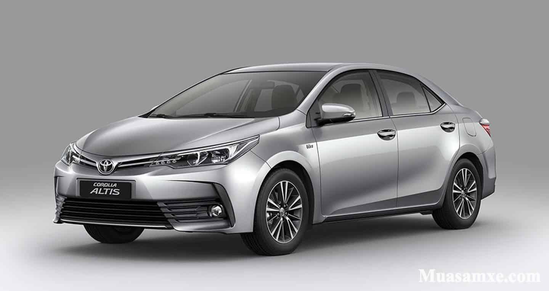 Hình ảnh mới nhất của Toyota Corolla Altis 2019 tại Việt Nam